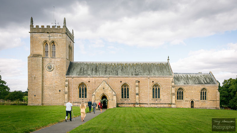Wedding at St Mary's Church, Norton Cuckney, Nottinghamshire, UK