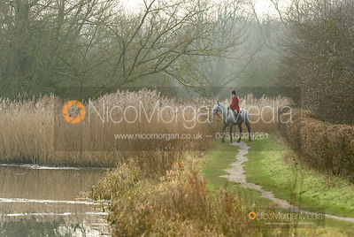 Lewis Chutter near Hose Thorns. The Belvoir Hunt at Long Clawson 21/1