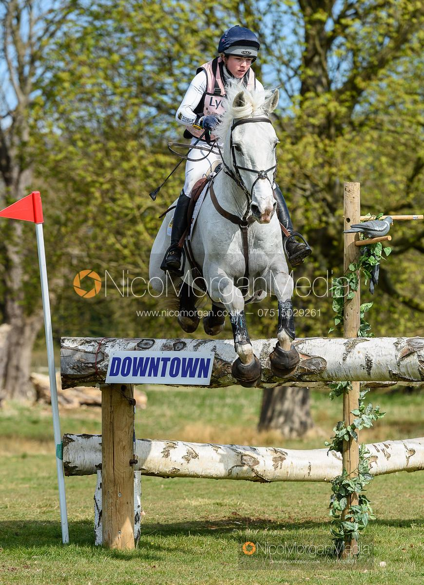 Felicity Collins and GLASKER SWEET CLOVER, Belton Horse Trials 2019