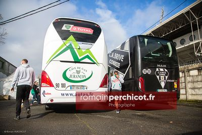 Section Paloise v CA Brive - TOP 14