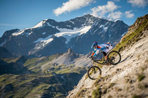 Steep riding with Nick Gowan