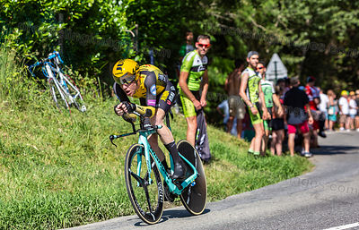 The Cyclist Steven Kruijswijk - Tour de France 2019