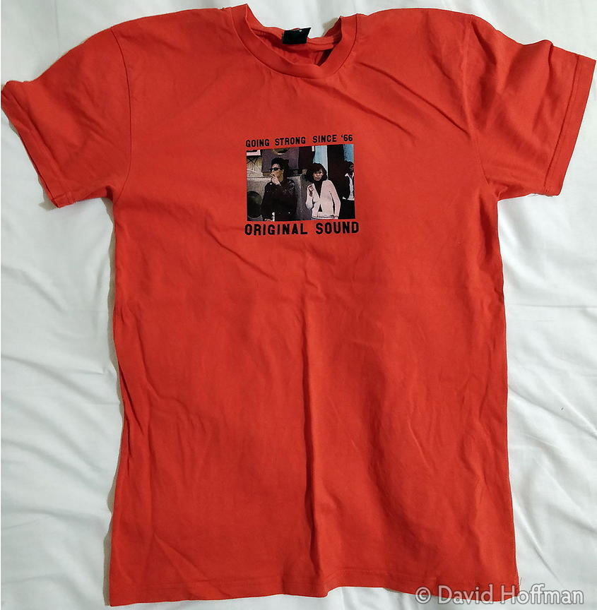 T-shirt with photograph by David Hoffman.