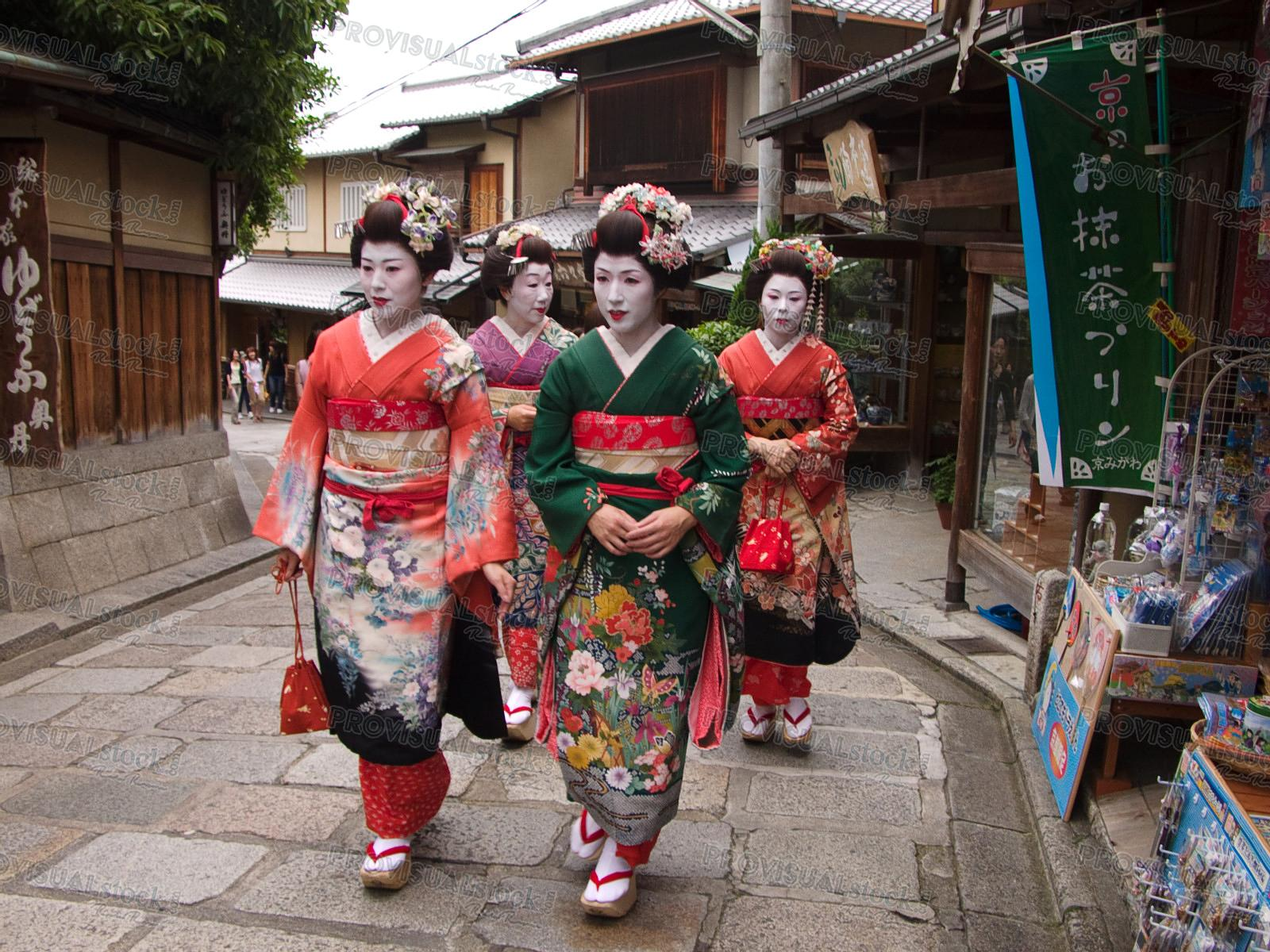 Group fo Geisha