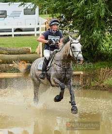 Katie Bleloch and GOLDLOOK - Aston Le Walls Horse Trials 2019.