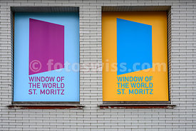 WINDOW OF THE WORLD St. Moritz