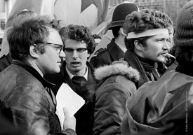 #70374,  The speakers, anti-Vietnam war demonstration march from Trafalgar Sq to Grosvenor Sq Sunday 17th March 1968.  I was ...
