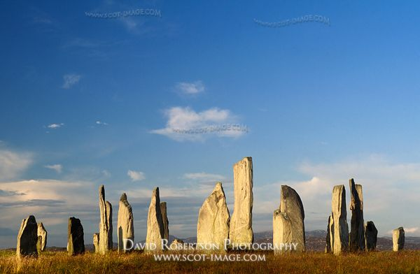 Image - Callanish Standing Stones, Lewis, Na h-Eileanan Siar, Scotland