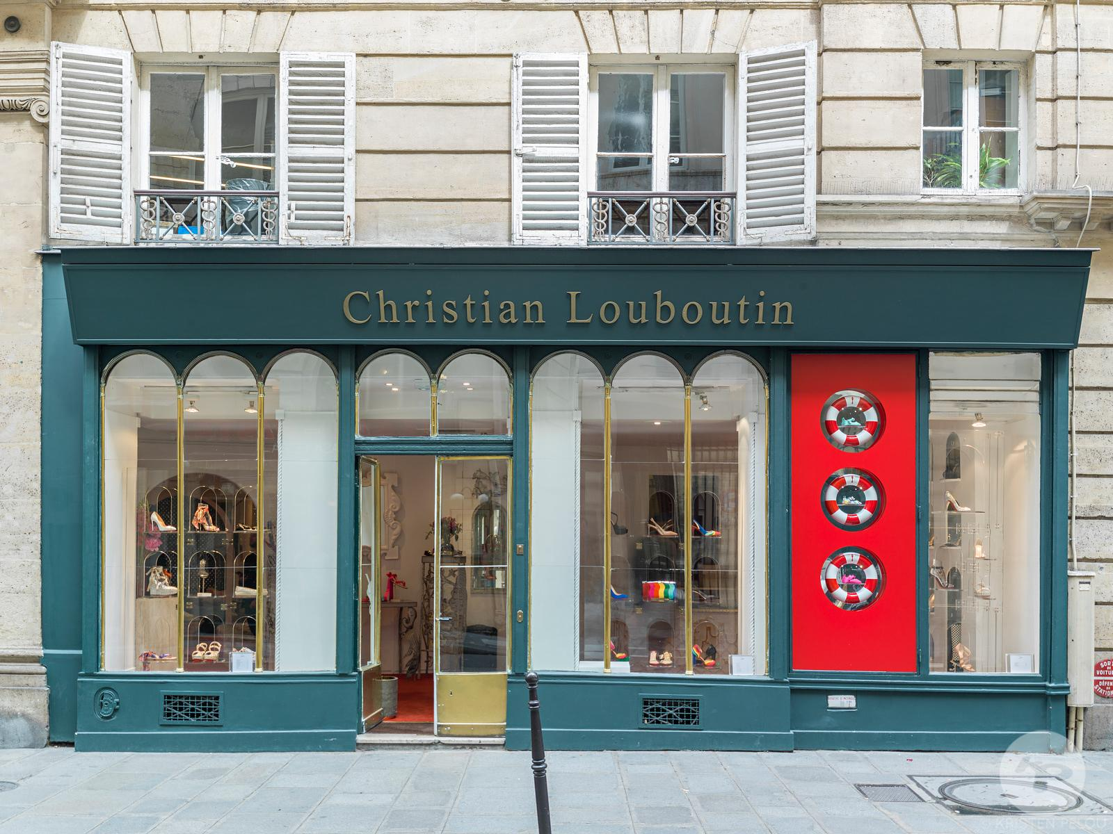 Christian Louboutin windows by Studio XAG. Photo ©Kristen Pelou
