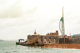 Portsmouth Harbour Entrance from the Solent.