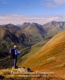 Image - Mountain walking in Kintail, Scotland