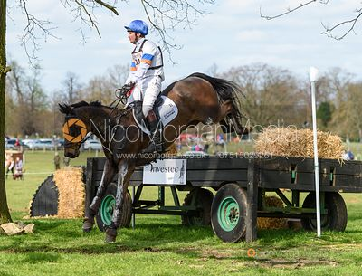 Francis Whittington and EVENTO, Belton Horse Trials 2019