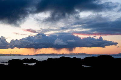 Rain cloud Isle of Harris