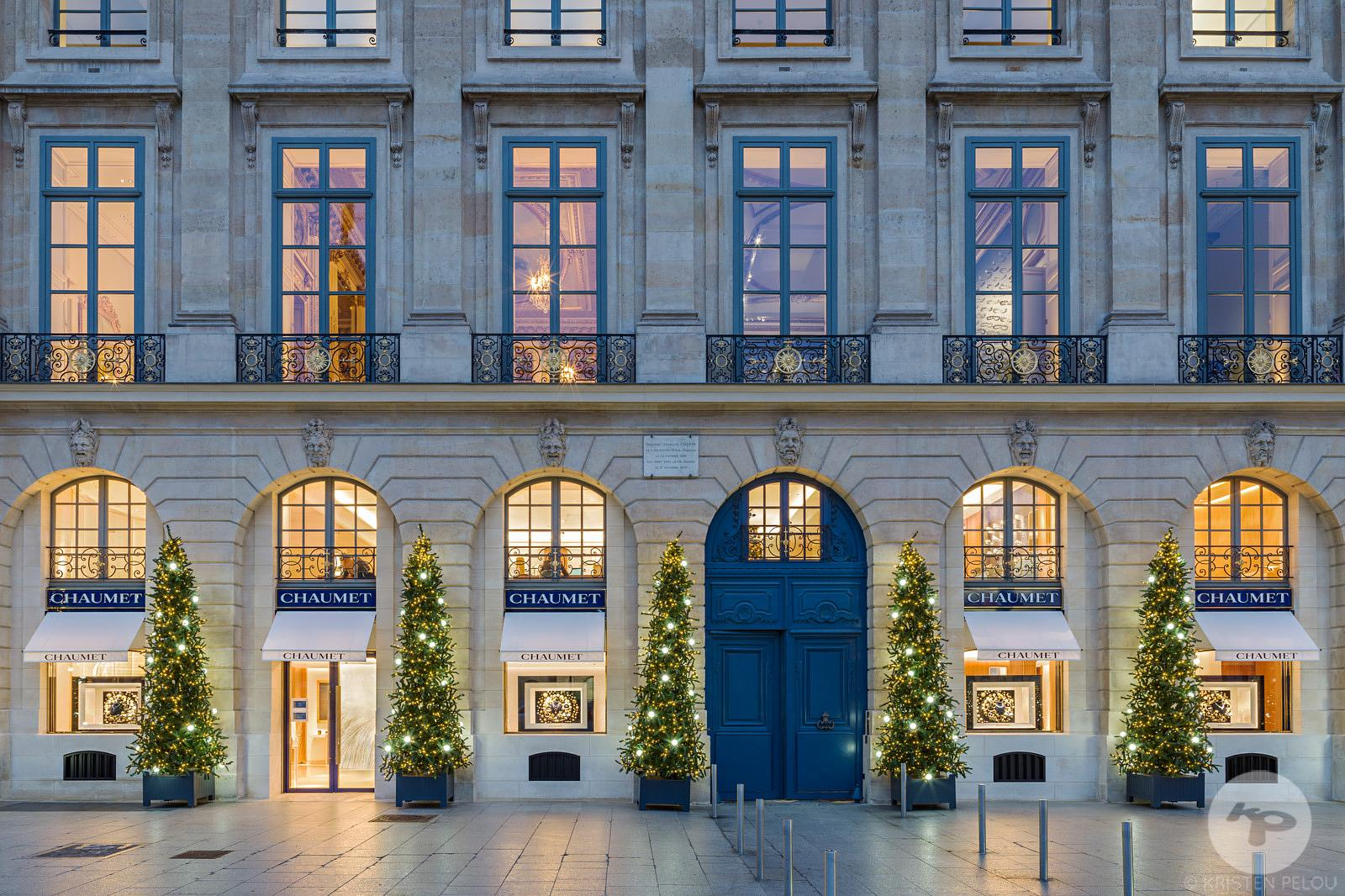 Retail architecture photographer Paris - CHAUMET PLACE VENDOME PARIS