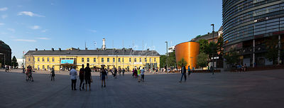 Narinkkatori, Kampin aukio|||Open square in Kamppi, city of Helsinki