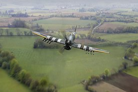 Hawker Typhoon over Normandy