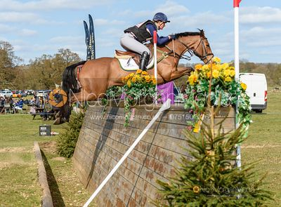 Sophie Jenman and DONERAILE, Belton Horse Trials 2019