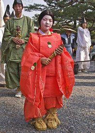 Traditional Japanese girl