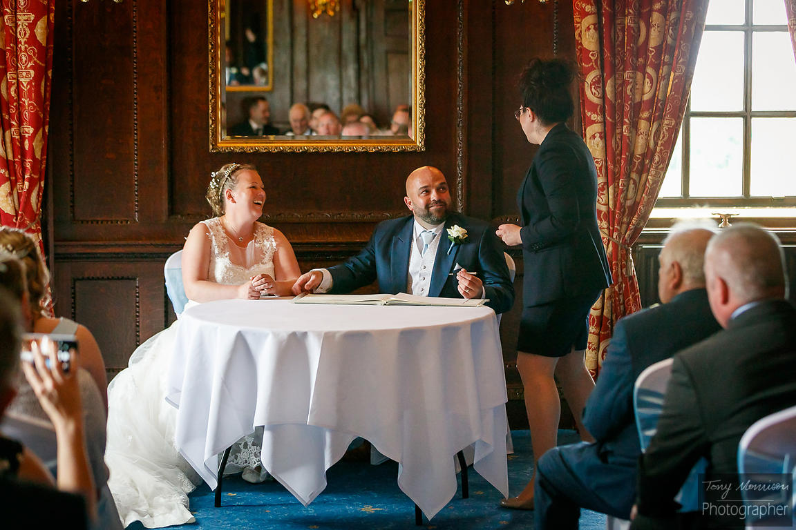 Wedding at Swinfen House, Lichfield, Staffordshire, UK