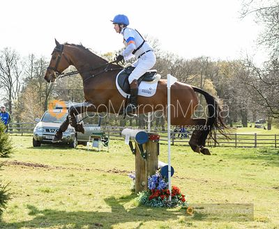 Francis Whittington and EXELLENT R, Belton Horse Trials 2019