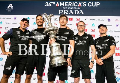 Photo from day seven of the 36th America's Cup Regatta