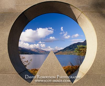 Image - National Memorial Park memorial at Rowardennan, Loch Lomond