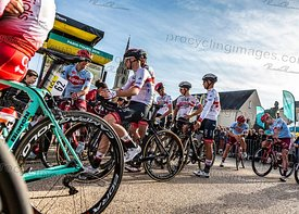 Cyclists Discussing - Paris-Tours 2019