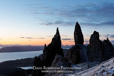 Image - The Old Man of Storr at dawn, Trotternish, Isle of Skye, Scotland