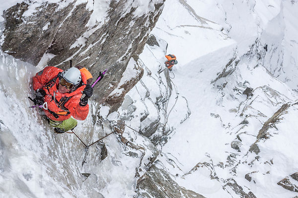 Ice Climbing with Stephane Dan