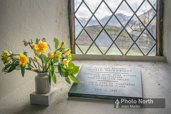 BUTTERMERE 42A - Wainwright Memorial, St James' Church