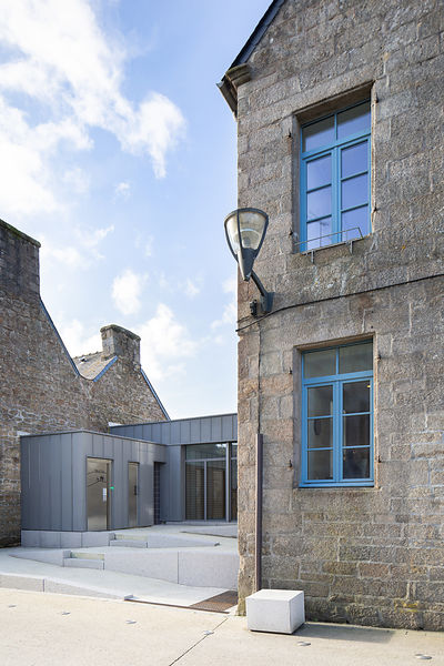 Extension Mairie, Plouarët // B. HOUSSAIS Architecture