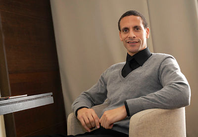 Rio Ferdinand at the Lowry Hotel. For Features / Diary. .Picture by Damien Maguire