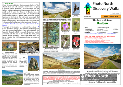 Barbon walk - Two page PDF file