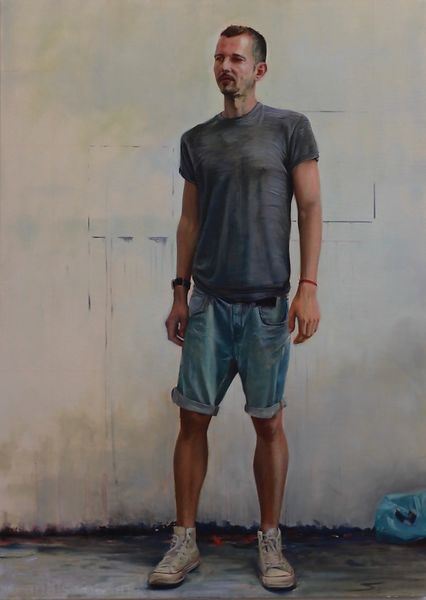 Tom, 2017, Oil on canvas, 160x115cm