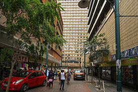 Business district, Pretoria Central