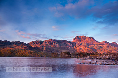 BP3089B - Slioch, from Loch Maree