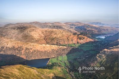 HARTSOP 04B - Aerial view over Brothers Water