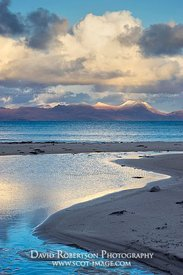 Image - View towards Coigach from Mellon Udrigle beach, Wester Ross, Highland, Scotland
