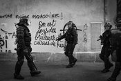 17_Anti-police_graffiti._The_first_accuses_the_police_to_be_murderers_while_the_second_one_endorses_attacks_against_the_polic...