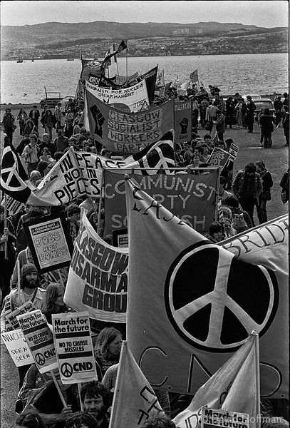 N83-3 CND March for the Future 1981