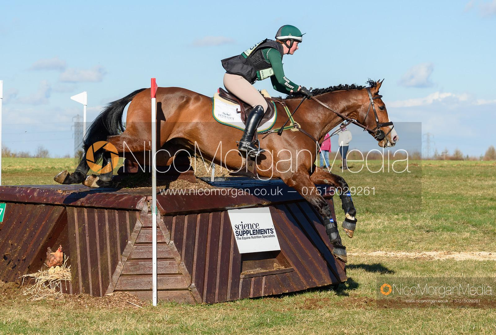 Susie Berry and RINGWOOD LB. Oasby (1) Horse Trials 2020