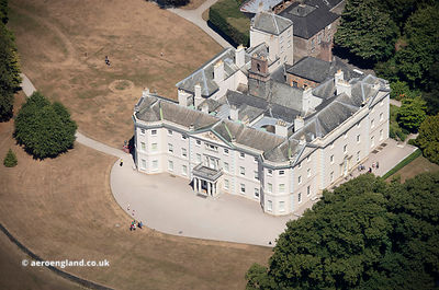Saltram House from the air