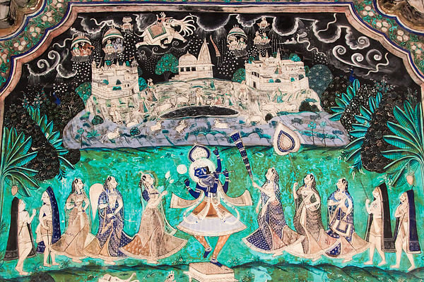 Bundi City Palace Mural II