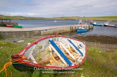 Image - Aith Voe, Cunningsburgh, South Mainland, Shetland