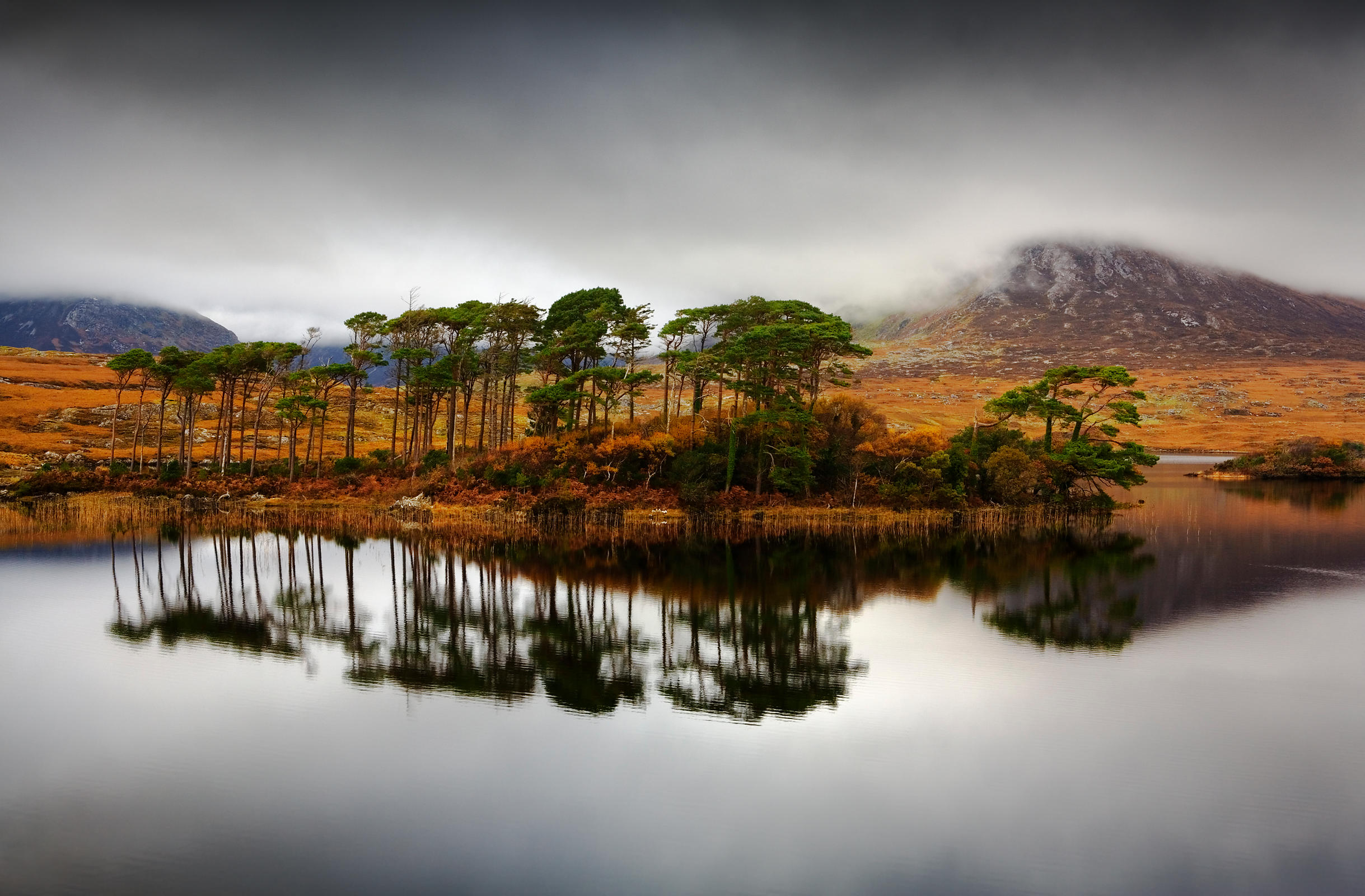 Lake in Connemara, County Galway, Ireland