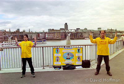 01041901-25 Falun Gong Protest