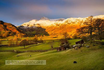 Sunrise, The Langdale Valley - BP3374C