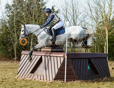 Holly Woodhead and GAPOLIO - Intermediate Sections - Oasby Horse Trials, March 2018.