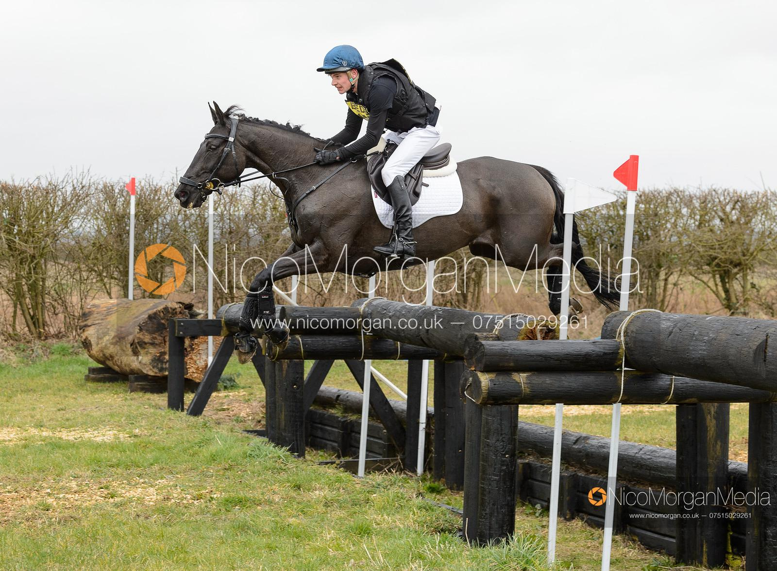 ARCHIE SMITH-MAXWELL and MASTER PING. Oasby (1) Horse Trials 2020