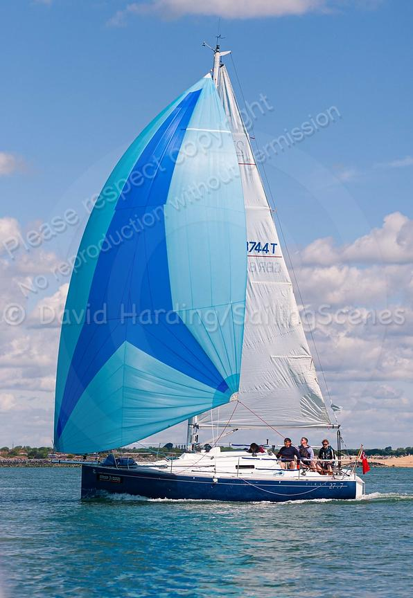 Arlanamor, GBR8744T, Beneteau First 27.7